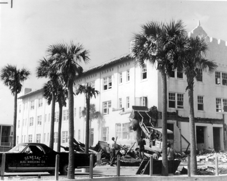Atlantic Beach Hotel Demolition